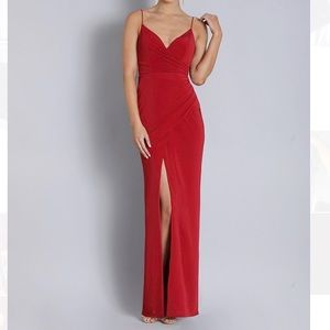 NWT red BARIANO dress